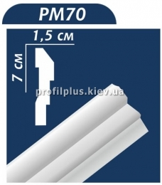 Молдинг Premium Decor PM70
